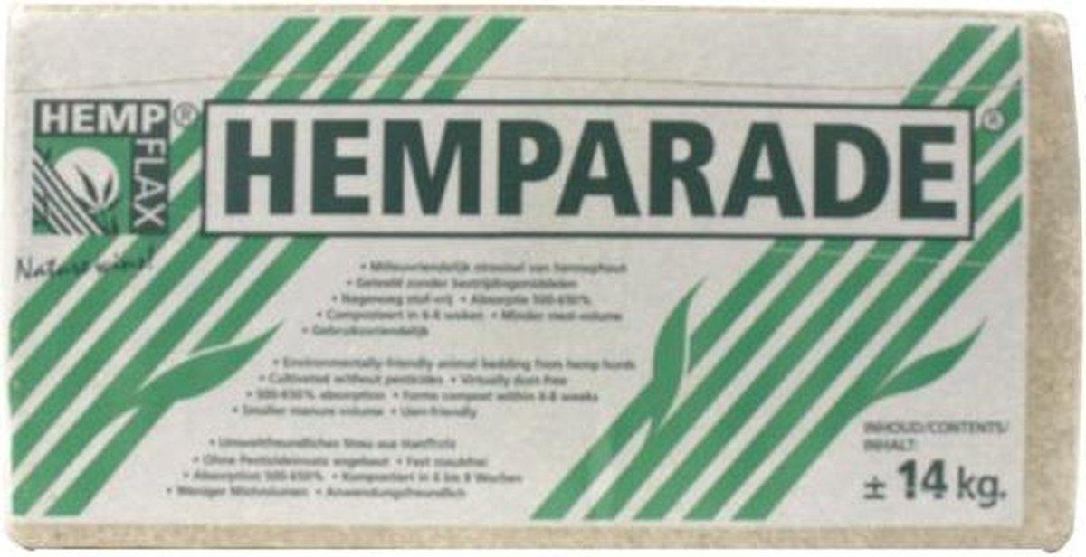 Hemparade Hennepvezelstrooisel - Bodembedekking - 14 kg