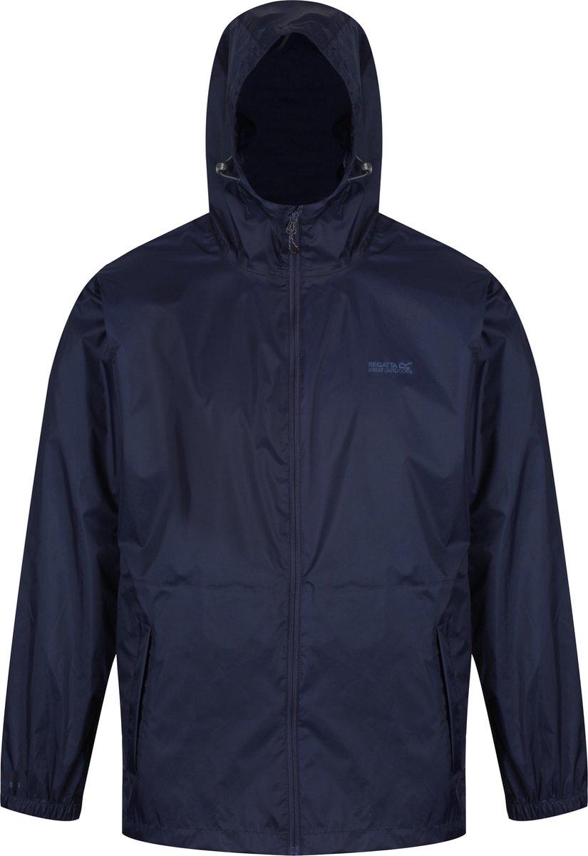 Regatta Pack-It II  Regenjas - Maat L  - Mannen - blauw