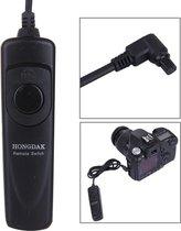 RS-80N3 afstandsbediening schakelaar ontspankabel voor Canon 50DII / 50DIII / D60 / 40D / 30D / 20D / 10D / 5D / D50 (zwart)