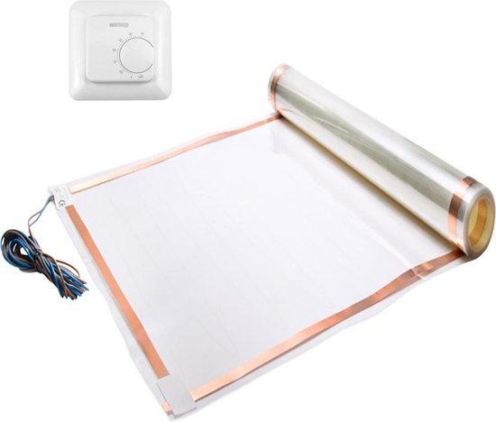 Elektrische vloerverwarming set 25-30 m² (incl. thermostaat) - Thermo Lámina