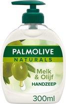 Palmolive Handzeep Naturals Olijf - 6 x 300 ml - voordeelverpakking
