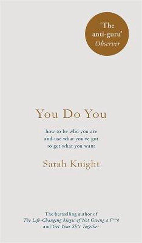 Boek cover You Do You van Sarah Knight (Hardcover)