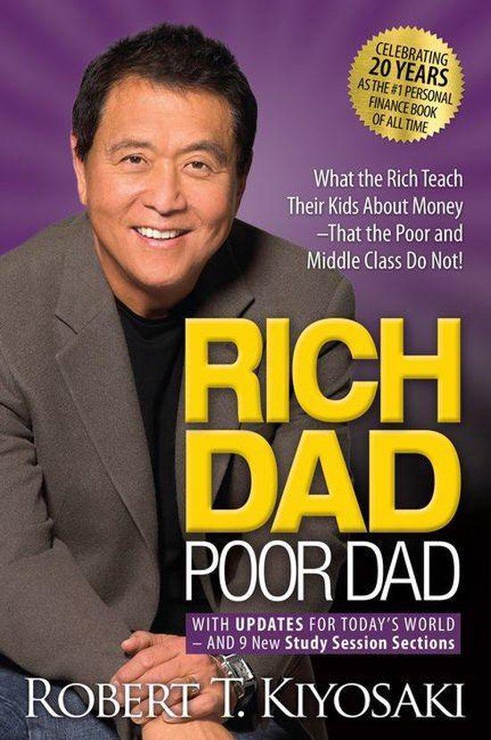 Boek cover Rich Dad Poor Dad van Robert Kiyosaki (Onbekend)
