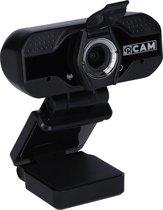 Rollei R-Cam 100 webcam 2 MP 1920 x 1080 Pixels USB 2.0 Zwart