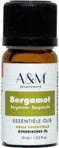 A&M Bergamot 100% pure Etherische olie, aromatische olie, essentiële olie