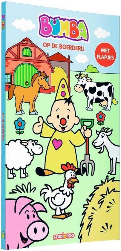 Bumba Kartonboek Met Flapjes - Op De Boerderij