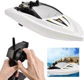Rc mini Boat H116 - Radiografisch bestuurbaar boot - 2.4GHZ - 1:47 (oplaadbaar) - Wit