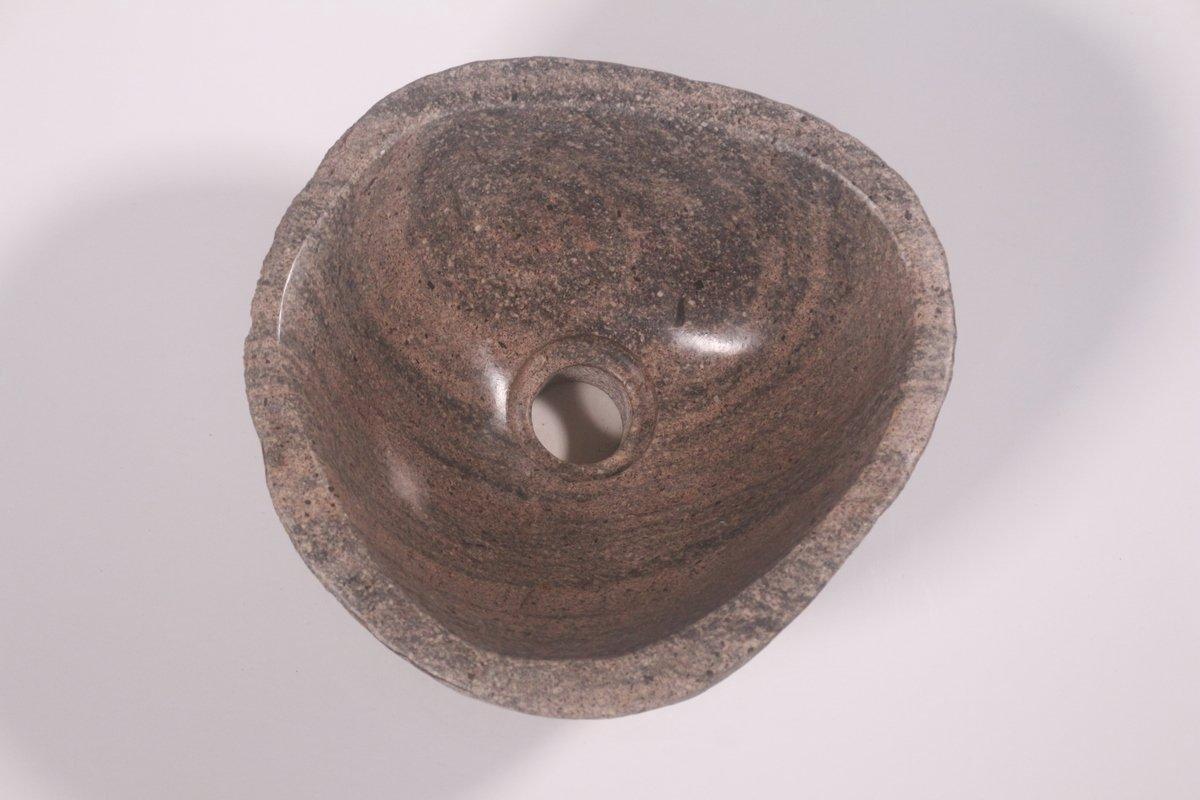 Natuurstenen waskom | DEVI-W21-333 | 27x28x14