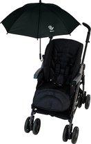 Altabebe - Universele UV-parasol voor kinderwagens - Zwart - maat Onesize