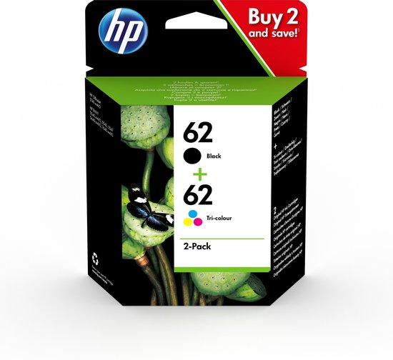 HP 62 - Inktcartridge / Zwart / Kleur / Dual-Pack