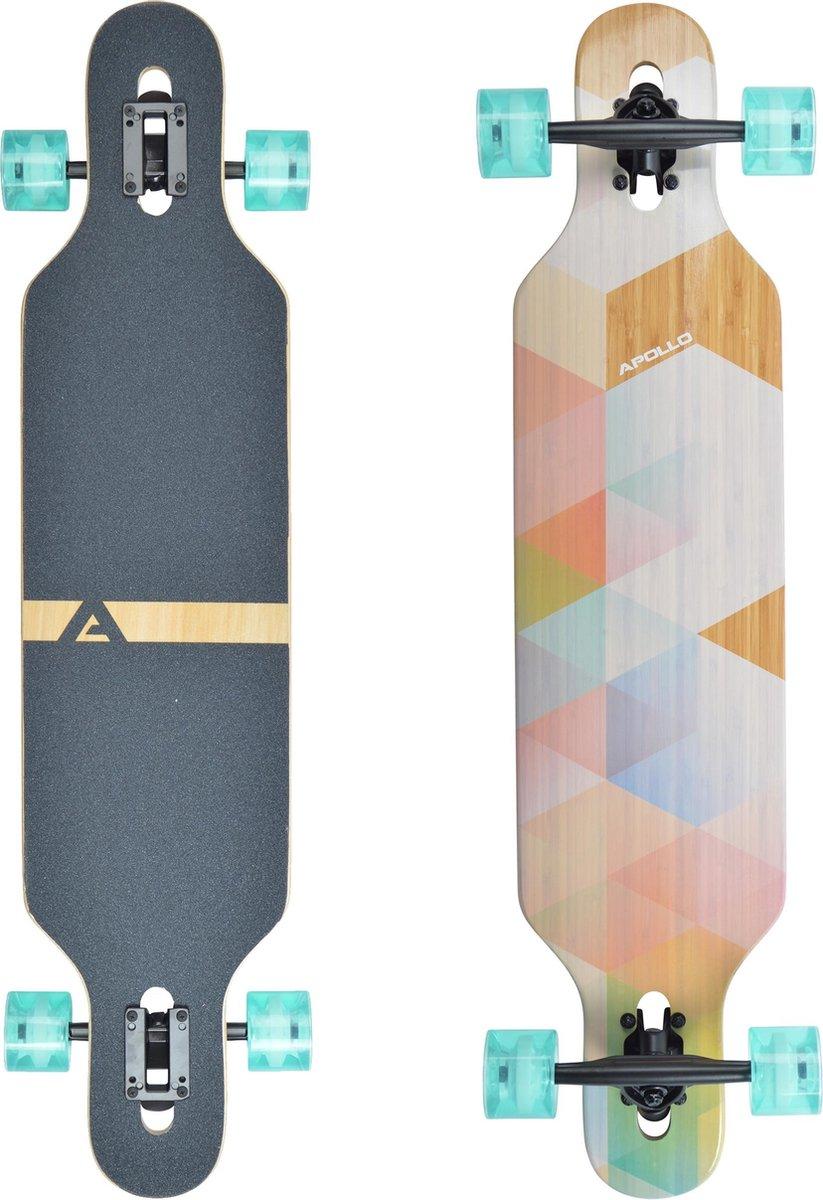 Apollo Twin Tip DT Longboard Nauro - Bamboe