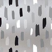 Raamfolie statisch-anti inkijk-Rayones grijs 46cm x 1.5 meter