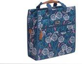 New Looxs Zarah Lilly Shopper Fietstas - 18 liter – Blauw