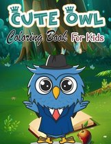 Cute Owl Coloring Book for Kids
