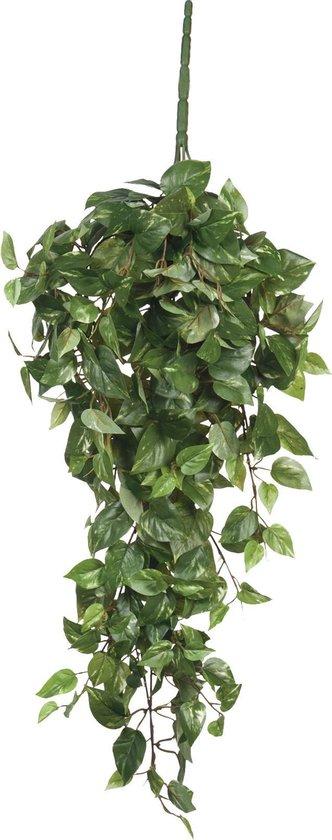 Mica Decorations Scindapsus Kunstplant Hangend - L15 x B30 x H80 cm - Groen