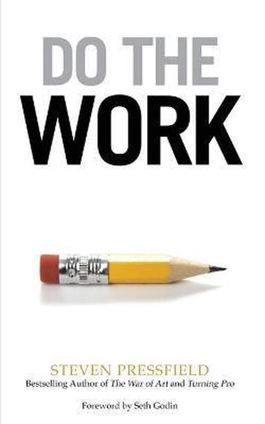 Boek cover Do the Work van Steven Pressfield (Paperback)
