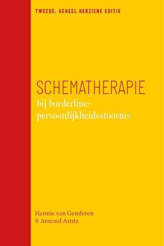 Boek cover Schematherapie bij borderline-persoonlijkheidsstoornis van Hannie van Genderen (Paperback)