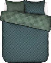 Covers&Co dekbedovertrek  No Stripes No Glory green - lits jumeaux (240x200/220 cm incl. 2 slopen)
