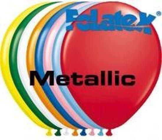 Ballonnen Metallic Assortiment Kleuren 30 cm 25 stuks