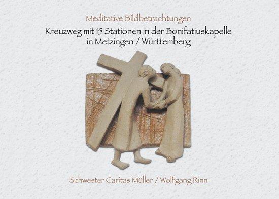 Kreuzweg mit 15 Stationen in der Bonifatiuskapelle in Metzingen/Württemberg