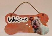 bordje - welcome - Bulldog