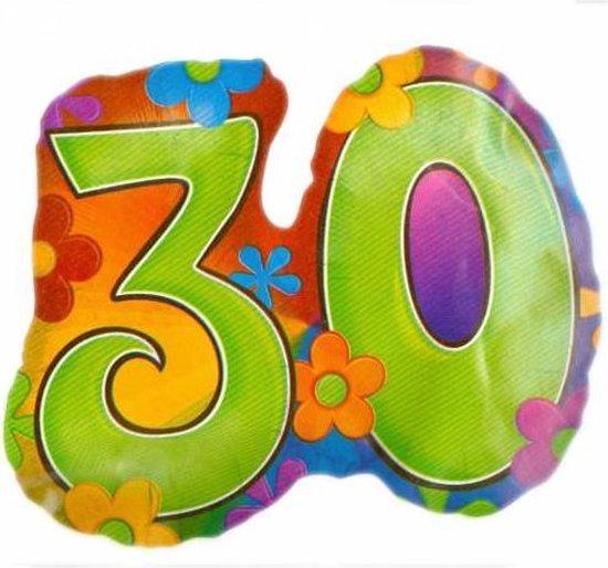 Folie ballon - 30 jaar