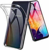 Samsung Galaxy A50 Hoesje, Soft TPU Kristal Transparant Slanke Anti-slip Full-Body Beschermende Telefoon Case Cover voor Samsung Galaxy A50