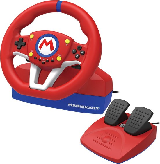 Hori Mario Kart Racestuur Pro Mini - Officieel Gelicenseerd - Nintendo Switch