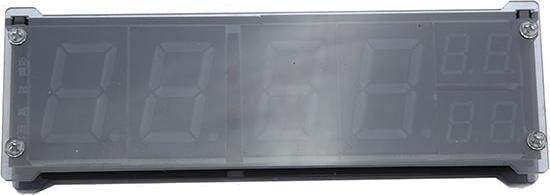 1,2 inch LED digitale klok elektronische wekker met temperatuur