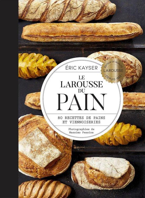 Boek cover Le Larousse du pain van Eric Kayser (Onbekend)