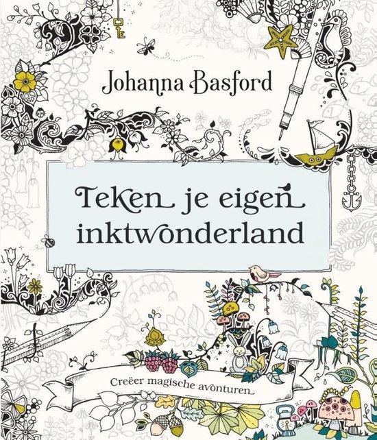 Teken je eigen inktwonderland - Johanna Basford | Readingchampions.org.uk