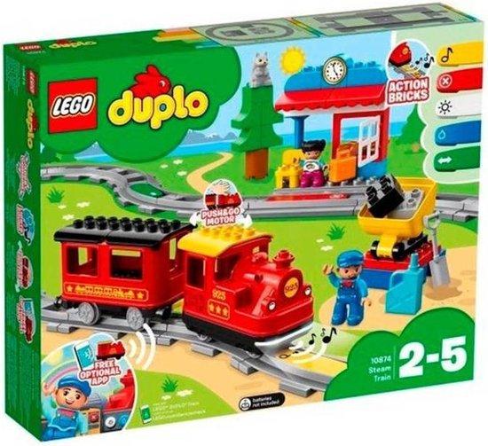 Afbeelding van LEGO DUPLO Stoomtrein - 10874 speelgoed
