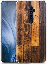 Oppo Reno 10X Zoom Hoesje Special Wood