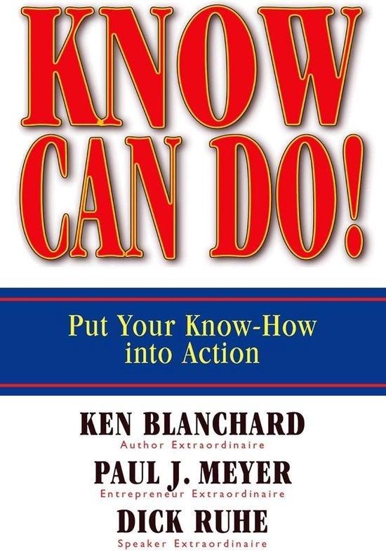Boek cover Know Can Do! van Ken Blanchard (Onbekend)