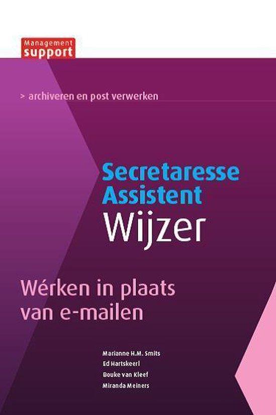 Secretaresse Assistent Wijzer - Wérken in plaats van e-mailen - Marianne H.M. Smits   Fthsonline.com