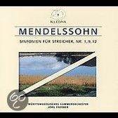 Mendelssohn: String Symphonies Nos. 1, 9, 12 [Germany]