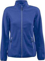 Printer Fleece Vest Rocket Lady 2261503 Blauw - Maat L