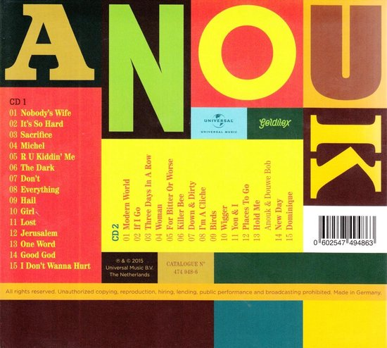 Greatest Hits - Anouk