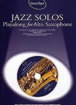 Guest Spot: Jazz Solos Playalong for Alto Sax