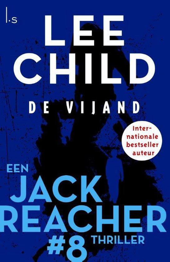 Omslag van Jack Reacher 8 -   De vijand