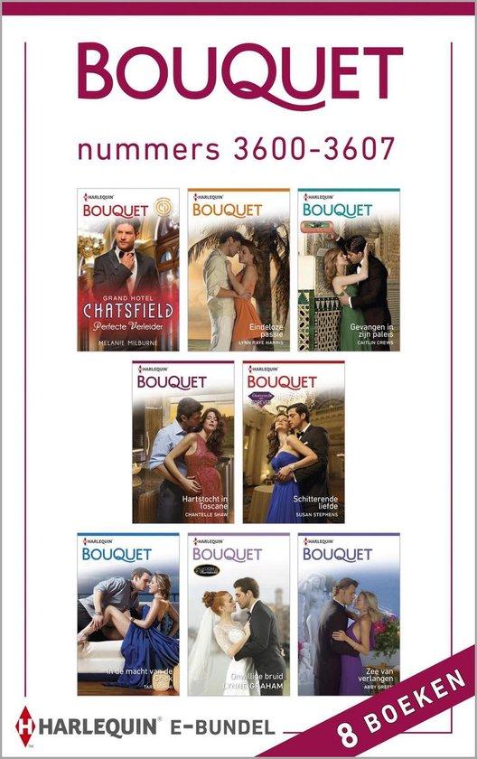 Bouquet e-bundel nummers 3600-3607 - Melanie Milburne |