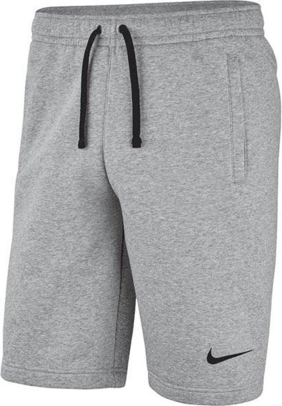 | Nike Club 19 Fleece short heren grijs