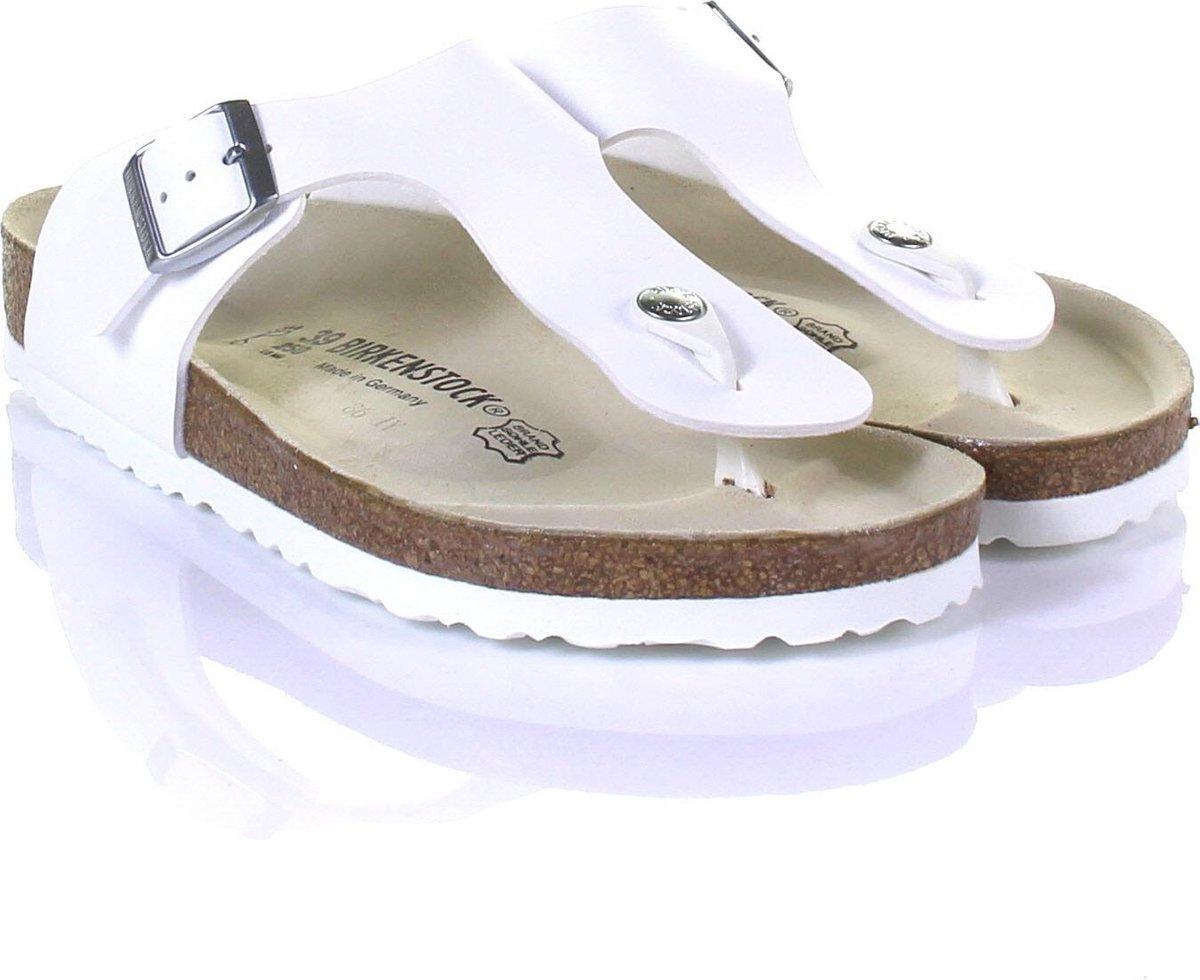 Birkenstock Ramses Normaal Heren Slippers - White  - Maat 43 - Birkenstock
