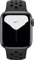 Apple Watch Series 5 Nike - Smartwatch - Spacegrijs - 44mm