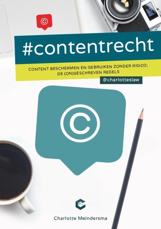 #contentrecht - Charlotte Meindersma pdf epub
