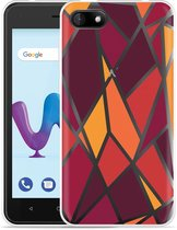 Wiko Sunny 3 Hoesje Colorful Triangles
