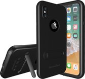 Let op type!! Shellbox Pro 2m Waterproof 2m Shockproof Dustproof PC Case for iPhone XS / X  with Holder (Black)