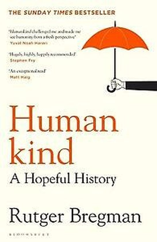Boek cover Humankind van Rutger Bregman (Paperback)