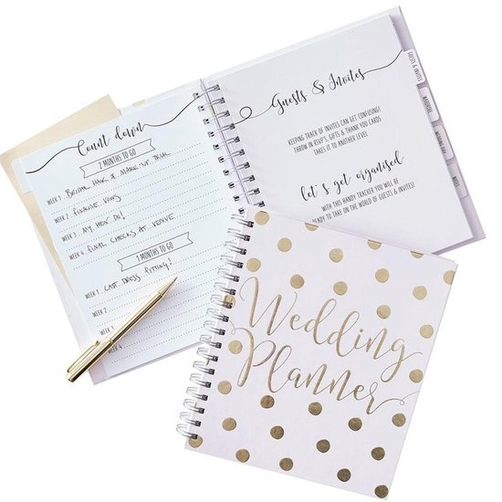 LUXE WEDDINGPLANNER | WIT GOUD | GOLD WEDDING | GINGER RAY