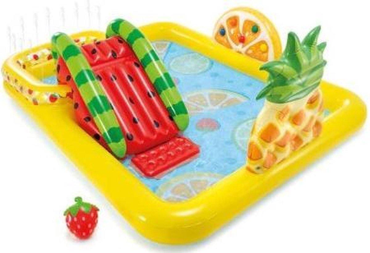 speelzwembad fruit 57158NP 244 x 191 x 91 cm PVC